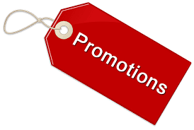 EXTRA'S + PROMOTIONS
