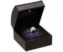 Ring Slot Box - Led Illuminated - Black interior